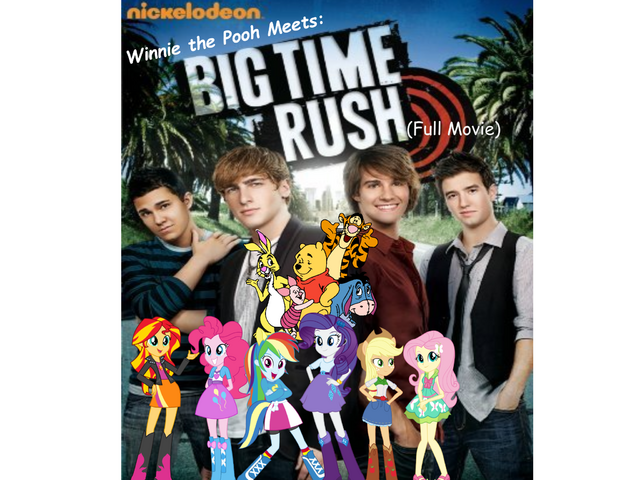 File:Winnie the Pooh Meets Big Time Rush Logo.png