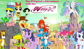 The FT Squad's Adventures with the Winx Club