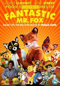 Pooh's Adventures of Fantastic Mr. Fox Poster