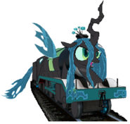 MLP Queen Chrysalis as a Thomas character