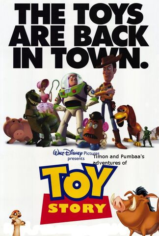 File:Timon and Pumbaa's adventures of Toy Story Poster.jpg