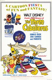 Pooh's Adventures of The Three Caballeros Poster