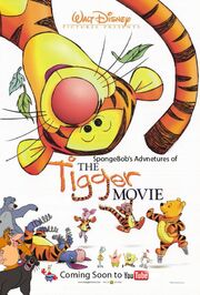 SpongeBob's Adventures of The Tigger Movie Poster