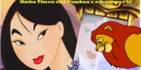 Simba, Timon, and Pumbaa's Adventures of Mulan