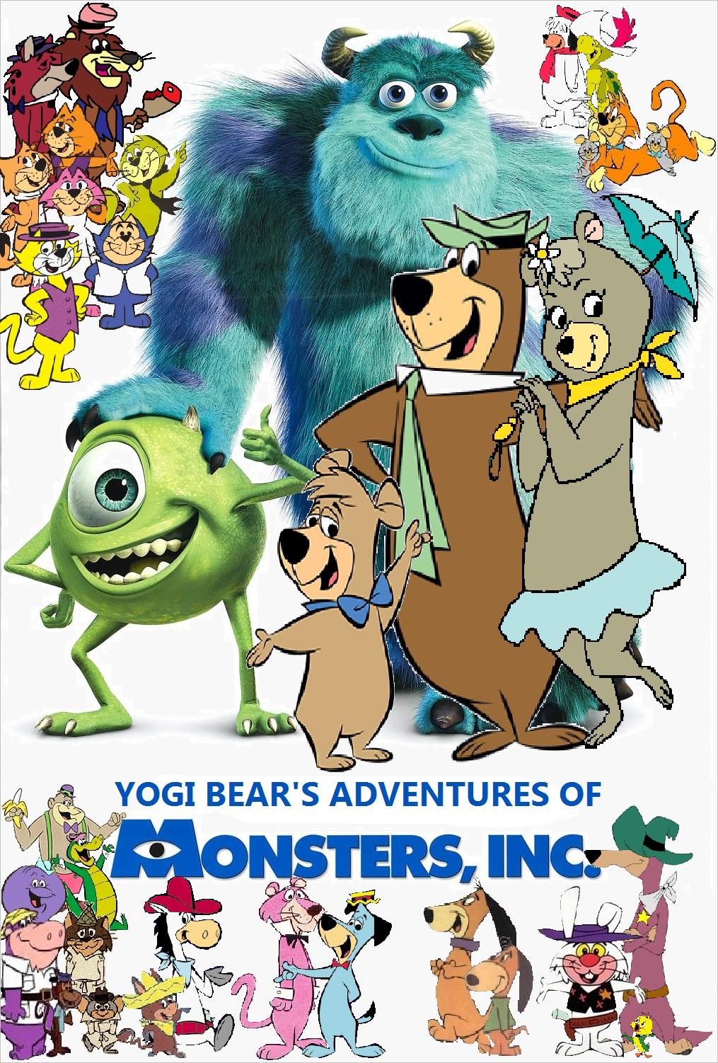 Yogi Bearu0026#39;s Adventures of Monsters, Inc. : Poohu0026#39;s ...