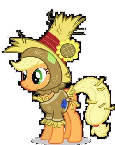 File:Applejack scarecrow costume.png