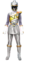 Dino Charge Silver Ranger Female