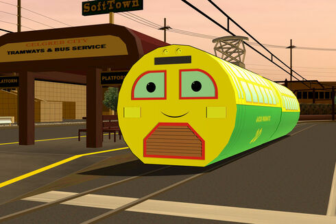 Jacob Pneumatic (The Railways of Crotoonia)