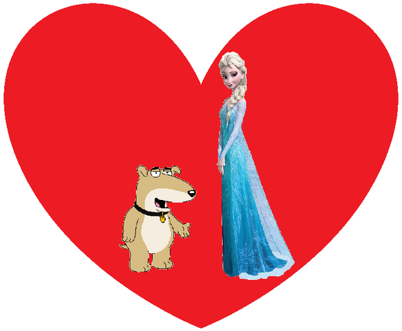 File:Vinny Griffin and Elsa the Snow Queen.png