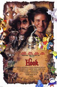 Winnie the Pooh vs. Hook Poster