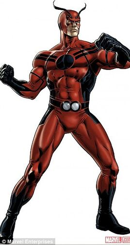 Hank pym as Giant-man