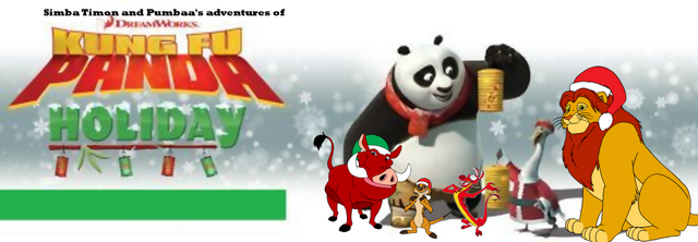 File:Simba Timon and Pumbaa's adventures of Kung Fu Panda Holiday.png
