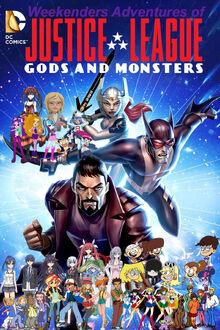 Weekenders Adventures of Justice League- Gods and Monsters