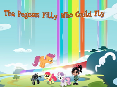 The Pegasus Filly Who Could Fly poster