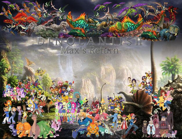 File:Dinolantis II Max's Return Poster.jpg