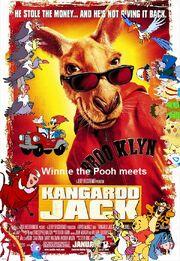 Winnie the Pooh meets Kangaroo Jack Poster