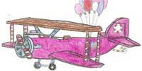 Pinkie's Biplane