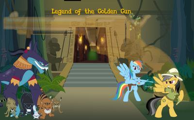 Legend of the Golden Gun poster