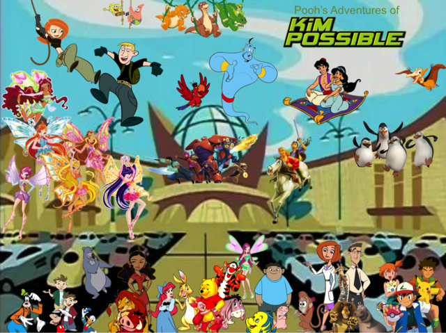 File:Pooh's Adventures of Kim Possible Season 1 Poster (Enchantix).png