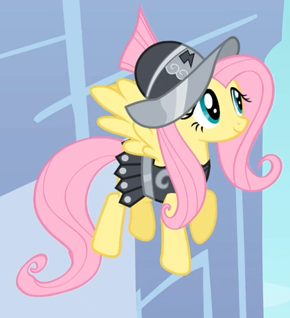File:Fluttershy as Private Pansy.png
