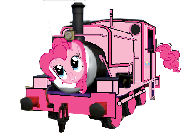 File:MLP Pinkie Pie as a Thomas character.png