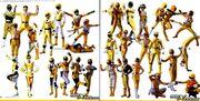 All Yellow Rangers