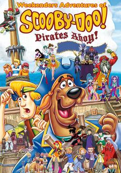 Weekenders Adventures of Scooby-Doo! Pirates Ahoy Remake Poster