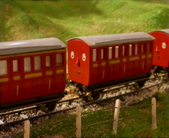 Skarloey Railway Coaches