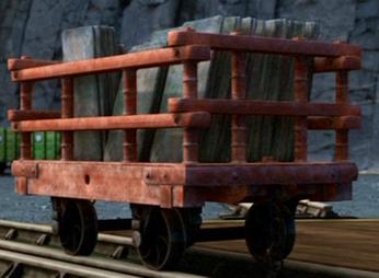The Skarloey Railway Slate Trucks