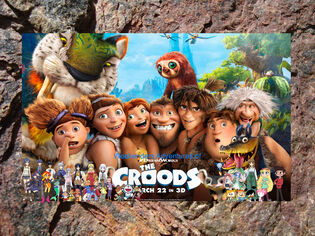 Weekenders Adventures of The Croods