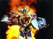 Wild Force Megazord Spear and Shield Mode