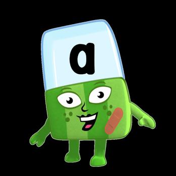 Alphablock A