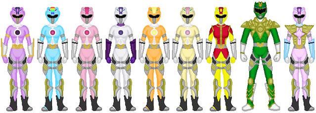 File:Harmony Force Rangers (Animal Spirit Battlizer Mode 2).png