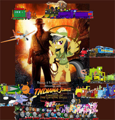 Thomas and Twilight's Adventure with Indiana Jones and the Kingdom of the Crystal Skull 2