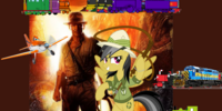 Thomas and Twilight Sparkle's Adventures with Indiana Jones and the Kingdom of the Crystal Skull