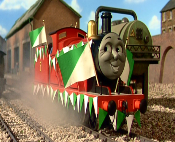 File:James in Sodor Football team colors.png