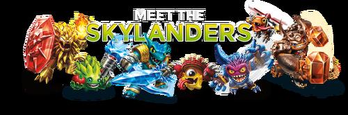 Skylanders Header
