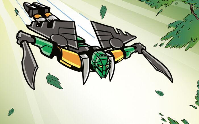 Animation Master Lewa Flying