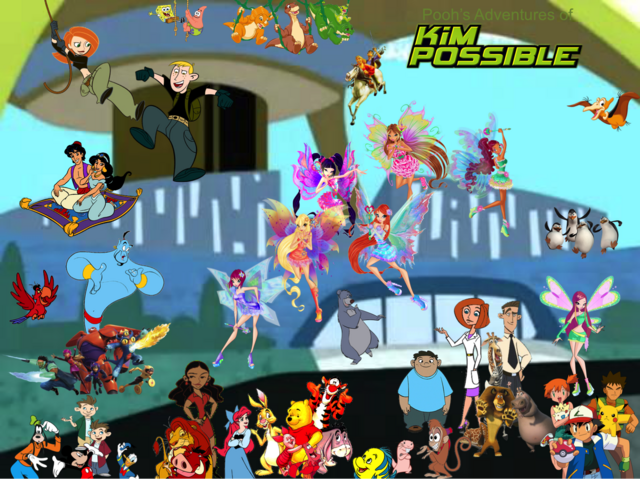 File:Pooh's Adventures of Kim Possible Season 3 Poster (Mythix).png