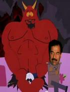 Saddam and Satan