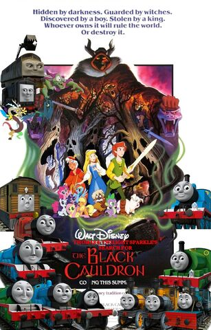 File:Thomas and Twilight Sparkle's Search for The Black Cauldron Poster.jpg