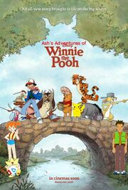 Ash's Adventures of Winnie the Pooh poster