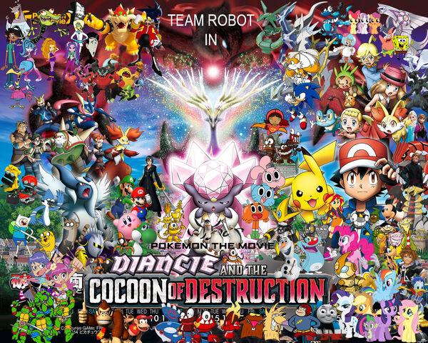 File:Diancie & the Cocoon of Destruction Poster (Remake).jpg