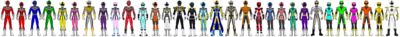 Data Squad Rangers (All Together 8)