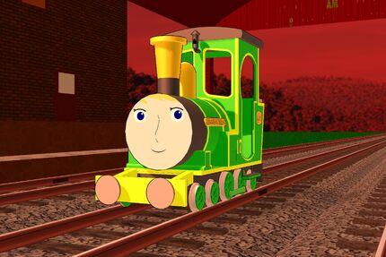 Greendale Rocket (The Railways of Crotoonia)
