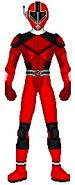 Red Data Squad Ranger (Armored)