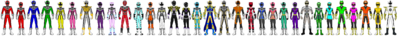 Data Squad Rangers (All Together 9)