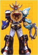 Wild Force Megazord Clutcher Mode