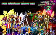Team Robot in Pokémon XY&Z Super DigiDestined Poster (Redo)