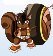 Bullet squirrel form (PPGZ)